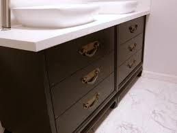 Refurbished Bathroom Vanity Double Vanity Bathroom Design Ideas U0026 Decorating Hgtv