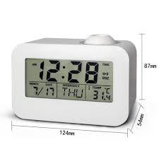 evana led display 806 digital talking projection clock amazon in