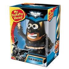 Potato Head Kit Disguise Batman Dark Knight Rises Batman Potato Head Mattel Toys
