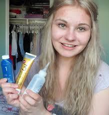 how i dye my hair blonde to dark ash blonde youtube cool
