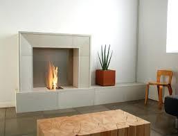 fireplace wall linear gas pics contemporary designs design ideas