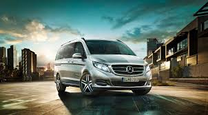 luxury minivan mercedes mercedes new v class concierge croatia