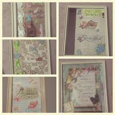 diy picture frames u0026 greeting cards idea vintage shabby chic