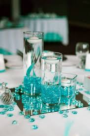 teal wedding innovation teal centerpieces best 25 ideas on wedding