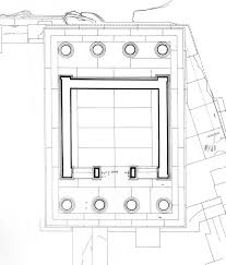 plan of the parthenon temple models and architecture
