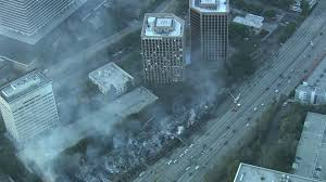 Second Hand Stores Downtown Los Angeles Massive Downtown Los Angeles Fire Was Arson Atf Lafd Ktla