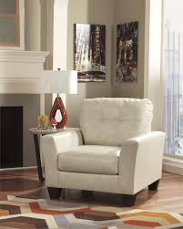 Ashelys Furniture Paulie Taupe Cuddler Chair By Ashley Furniture