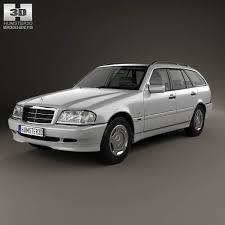 3d class price mercedes c class s202 estate 1997 3d model from humster3d