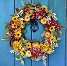 make door wreath with mini pumpkins themselves u2013 autumn and
