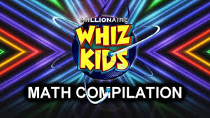 who wants to be a millionaire whiz kids math compilation s15
