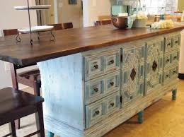 kitchen decorative diy kitchen island from dresser refurbished
