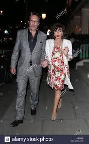 percy gibson joan collins elizabeth mcgovern at haymarket hotel