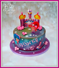 shimmer u0026 shine birthday cake op en top taart birthday cakes