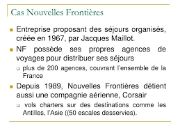 Nouvelles Fronti Ppt Cas Nouvelles Frontières Powerpoint Presentation Id 240942