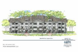 construction begins on tollgate road apartments south of bel air