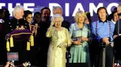 Estrelas do pop cantam para a rainha em Jubileu de Diamante