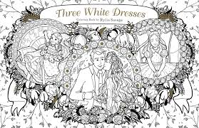 three white dresses coloring book deseret book