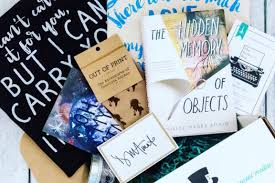 the bookish box subscription box cratejoy