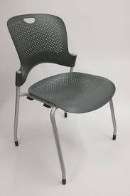 Caper Stacking Chair Herman Miller Caper Side Chair In Graphite Set Of 2