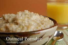 oatmeal porridge recipe joyofbaking com tested recipe