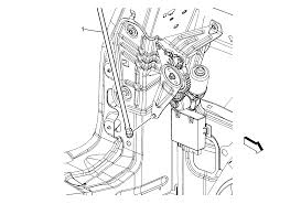 repair instructions liftgate actuator rod replacement 2010 gmc