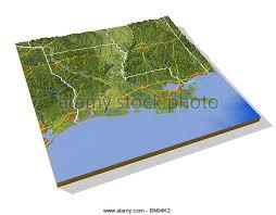 map louisiana highways interstates map louisiana stock photos map louisiana stock images alamy