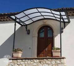 tettoie per porte esterne tettoie tettoie in ferro battuto tettoia per terrazzo tettoia