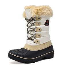 womens mid calf boots canada pairs s dp canada faux fur lined mid calf winter