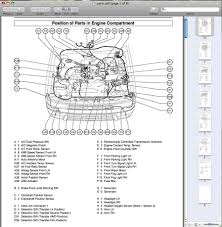 2001 toyota tacoma pickup wiring diagram manual original