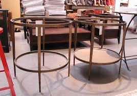 Barrel Side Table Crate And Barrel Clairemont Side Table Home Table Decoration