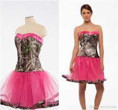 camo bridesmaid dresses cheap pink camo wedding dresses