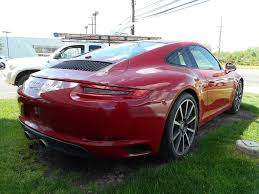 carmine red porsche new 2017 porsche 911 carrera s