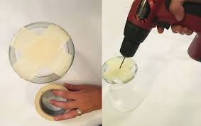 mercury glass lamp pendant hometalk