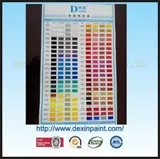 dexin car paint color chart buy car paint color chart dexin car