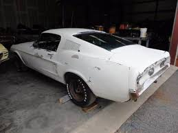 1967 ford mustang fastback project for sale 1967 ford mustang fastback 289 auto project ivory 31k for sale