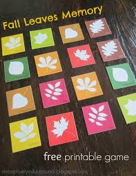 relentlessly fun deceptively educational fall leaves matching
