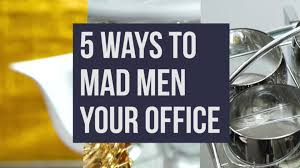 mad men office 5 ways to mad men your office video hgtv