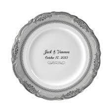 personalized china plates 11 best personalized wedding plates images on china