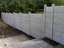 concrete fence panels home depot best house design