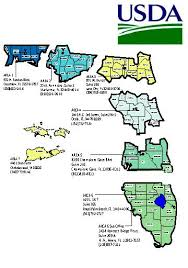 Map Of North Florida Counties Florida Contacts Usda Rural Development