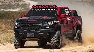 chevy baja truck street legal mostly stock chevy colorado zr2 will do vegas to reno with hall