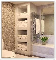 Shelves For Towels In Bathrooms Bathroom Shelves For Towels Bathroom Shelf With Hooks Metal
