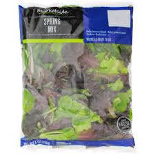 earthbound farm organic half spring mix u0026 half baby spinach 1 lb