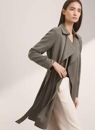 Terry Cloth Robe Kohls Maximo Trench Coat Trench