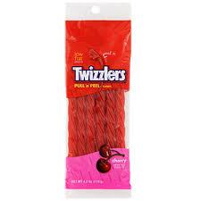 Edible Candy Jewelry Bulk Twizzlers Cherry Pull U0027n U0027 Peel Cherry Flavored Candy