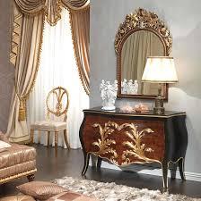 chambre style louis xv chambre à coucher style louis xv emperador black commode et miroir