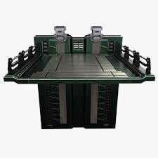 sci fi elevator 3d model cgtrader