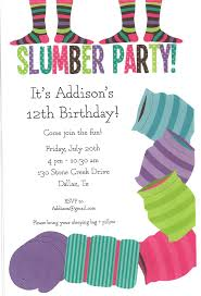 opinion custom slumber party invitations features party dress