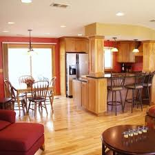 remodel designer edge islands split level split foyer kitchen