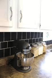 can you paint over ceramic tile backsplash elegant half moon black